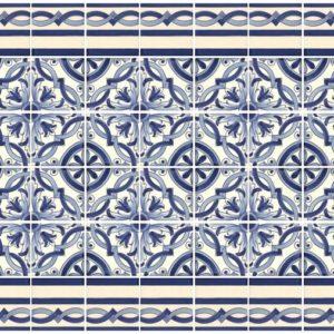 Camilù azulejos del Portogallo decoro Olivais